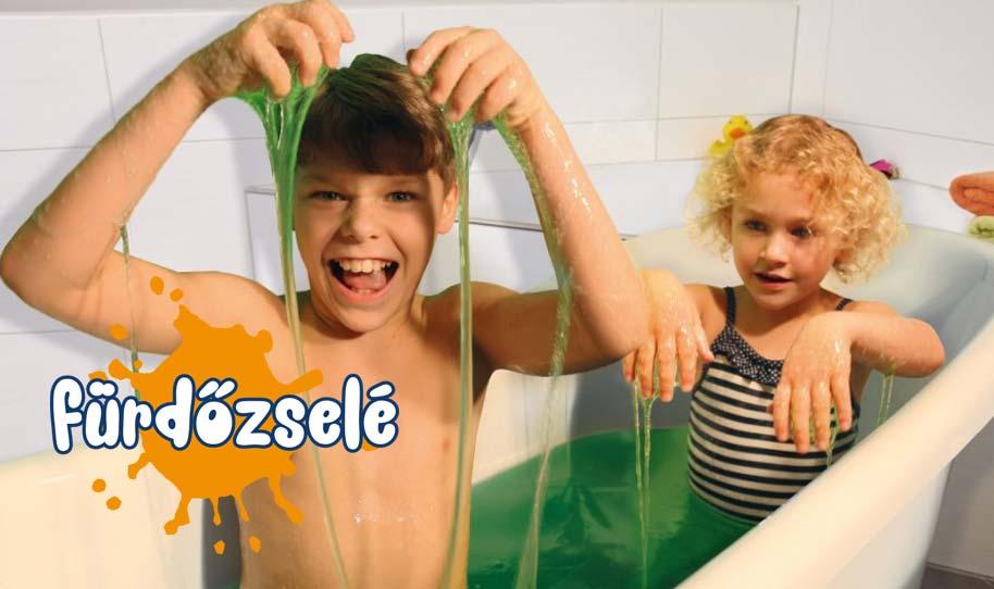 Fürdőzselé