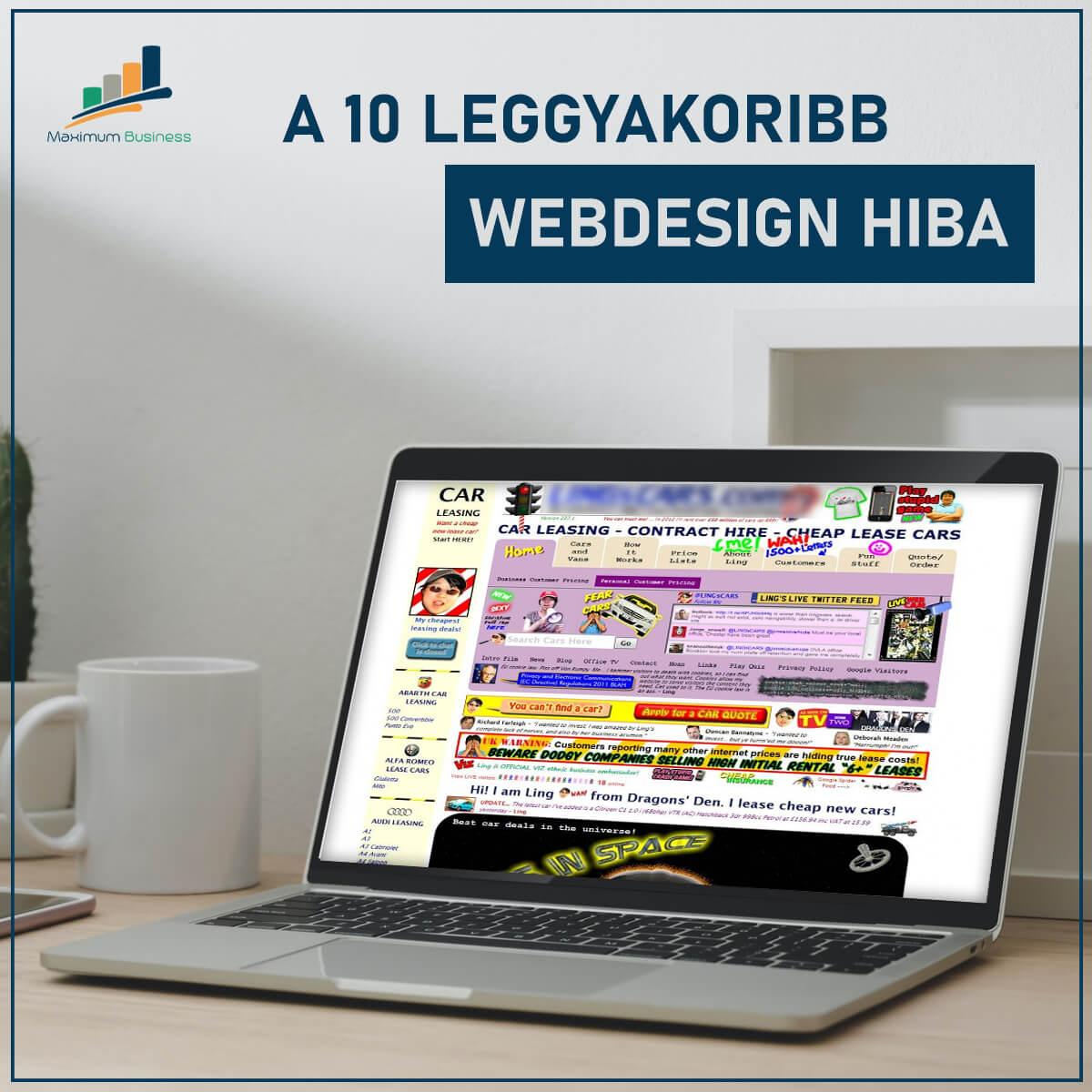 webdesign hibák