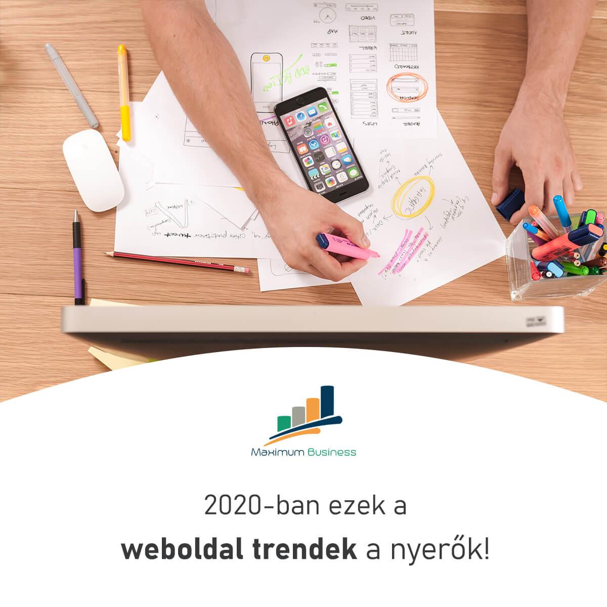 weboldal trendek
