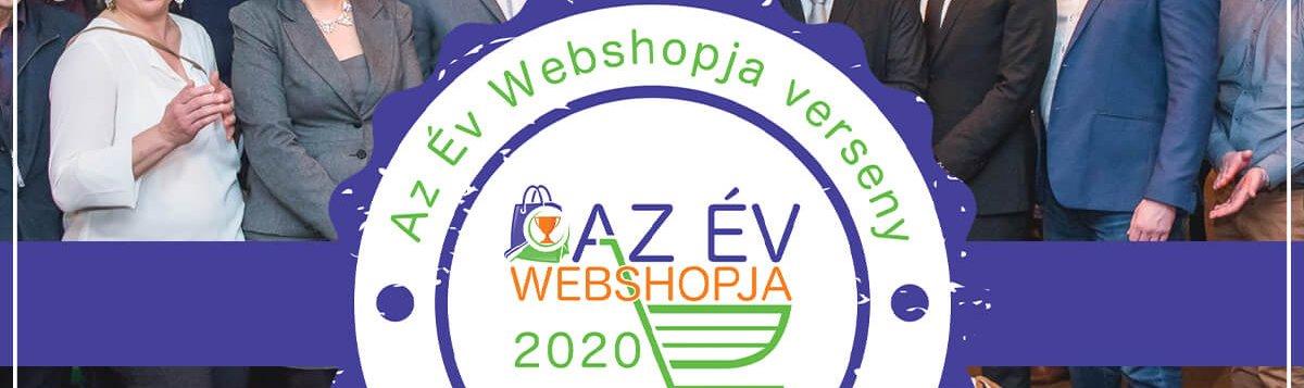 az év webshopja díj