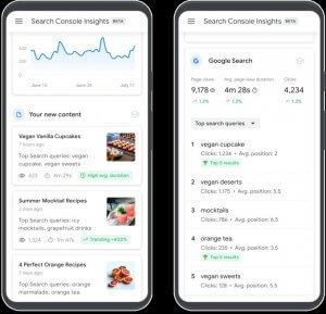 search console insight