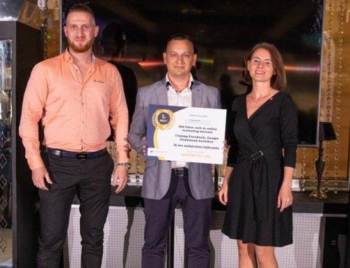 Lezárult Az Év Webshopja verseny díjátadó!